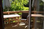 Nr. 6 Dvivietis su vaizdu i sodą, didele ir nauja terasa ir su atskiru įėjimu - 4