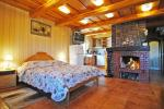 Superior double apartment with a fireplace, sauna and lagoon view (45 sqm.) 75-100 Eur per night; - 2