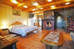 Superior double apartment with a fireplace, sauna and lagoon view (45 sqm.) 75-100 Eur per night; - 1