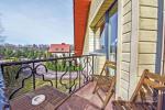 Nr. 1 Dviejų kambarių apartamentai su virtuve ir balkonu - 10