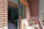 Doppelzimmer mit einem Zusatzbett, Küche, Balkon im zweiten Stock - 9