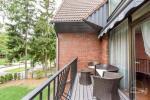 Четырехместные апартаменты с 1 спальней, балконом и камином на втором и третем этаже коттеджа. 60 кв.м. - 12