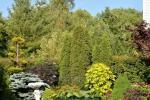 Privaten Hof mit einem Garten, Gartenmöbel, Pergola, Kinderspielplatz, PKW-Parkplatz - 21