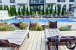 Новая (40 кв.м) квартира в новом комплексе с бассейном - 16