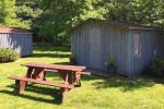 Campinghütten mit Gartenmöbeln und Gemeinschaftsausstattung für 4, 6, 8 Personen - 1