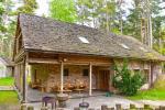 Māja pasākumiem ar banketu zāli, guļamistabām, saunu, burbuļvannu, āra peldbaseinu - 2