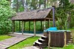 Namas šventėms su sale, miegamaisiais, pirtimi, kubilu, lauko baseinu - 3