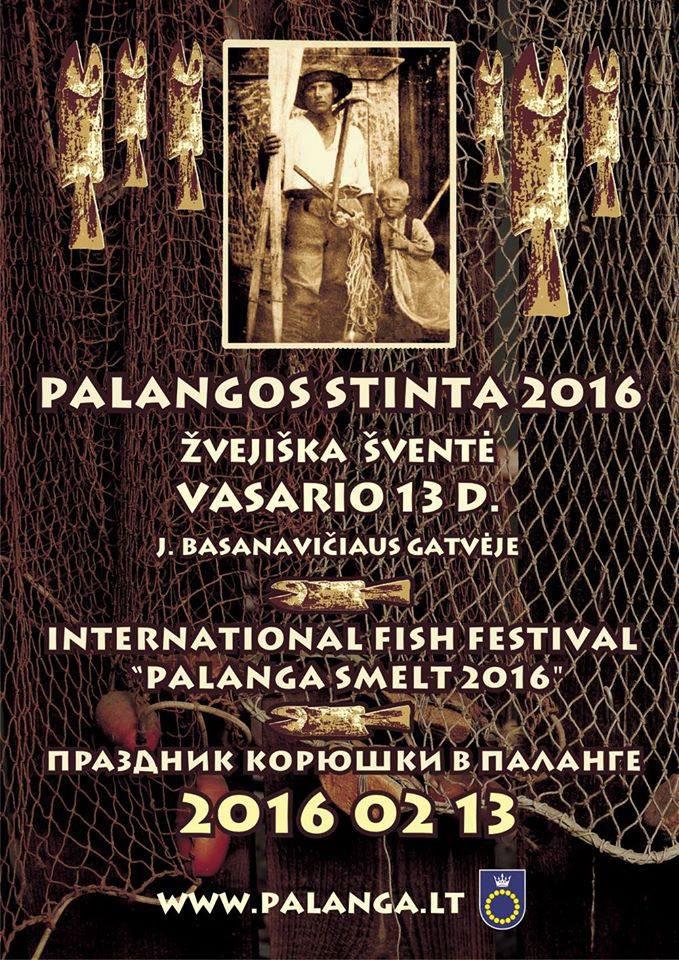 Annual festival Palanga smelt 2016